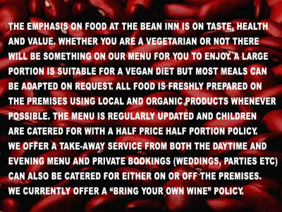 Vegetarian restaurant in Cornwall