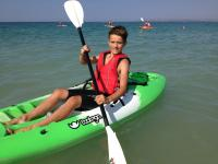 Kayaking on Carbis Bay