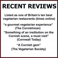 recent reviews of the bean inn vegetarian and vegan restaurant st ives cornwall